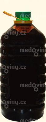 Medovina Křivoklátská Mandlová barel 18% 5l