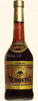 Medovina Křivoklátská Ořechová 18% 0,5l