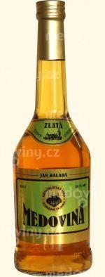 Medovina Křivoklátská Zlatá 18% 0,5l