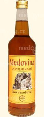 Medovina Z Podhradí Karamelová 14% 0,5l