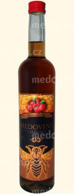 Medovina Starokácovská Višňová 13% 0,5l