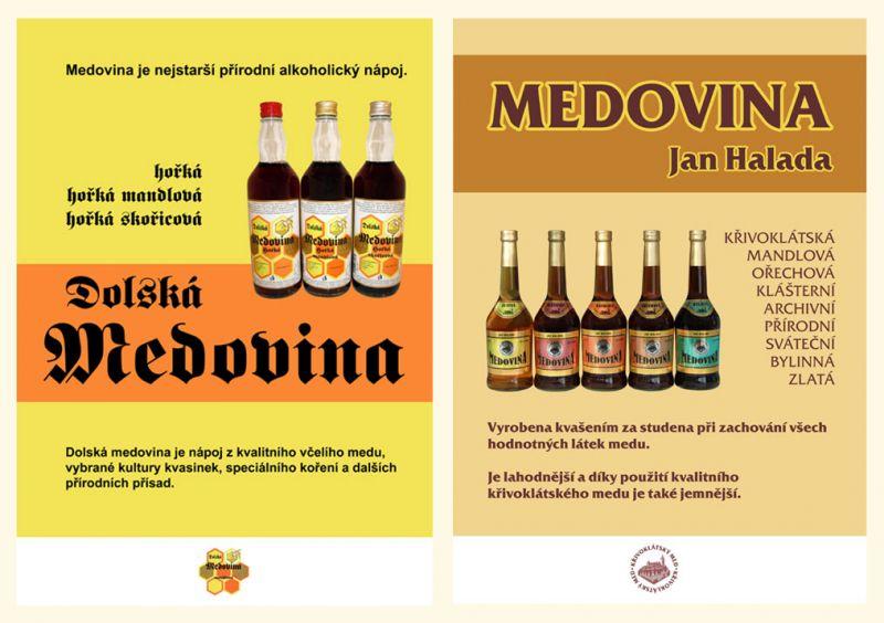 Plakáty pro prodejce medoviny